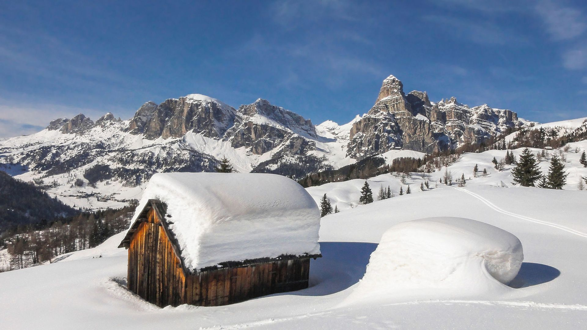 Image: from Armentarola (a locality next to San Cassiano)