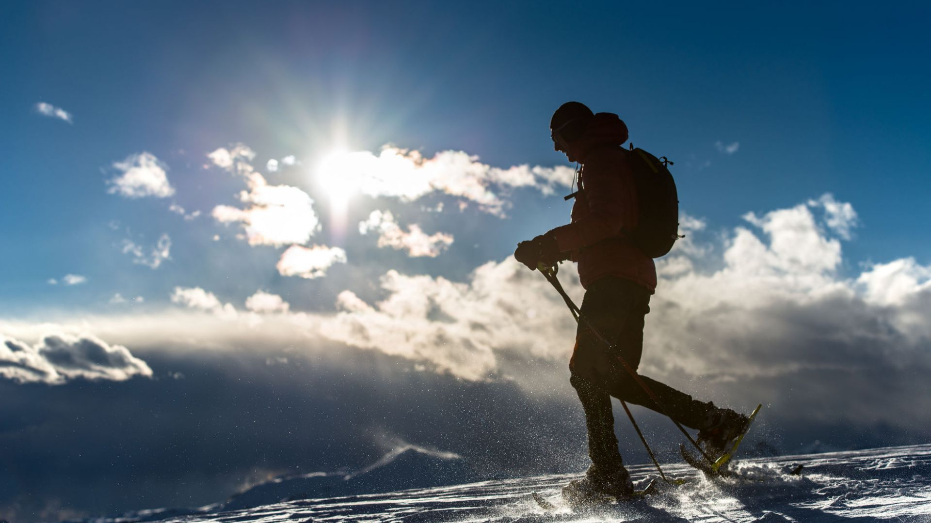 Image: Winter hiking & snowshoeing