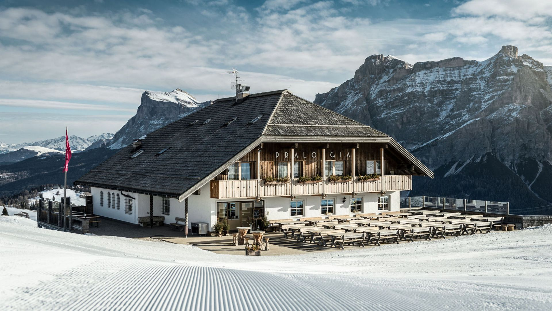 Image: Mountain Hut Pralongià in Alta Badia